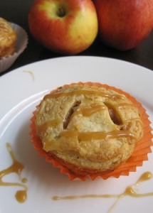 Mini Apple Pies The flakiest and most buttery pie crust filled with apples, oat crumble and salted caramel.